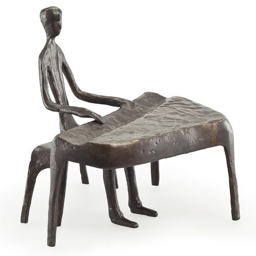 Found it at Wayfair - Piano Player Sculpture