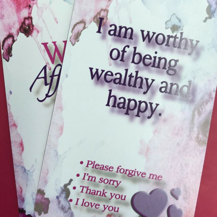 Wealth affirmation – day 4
