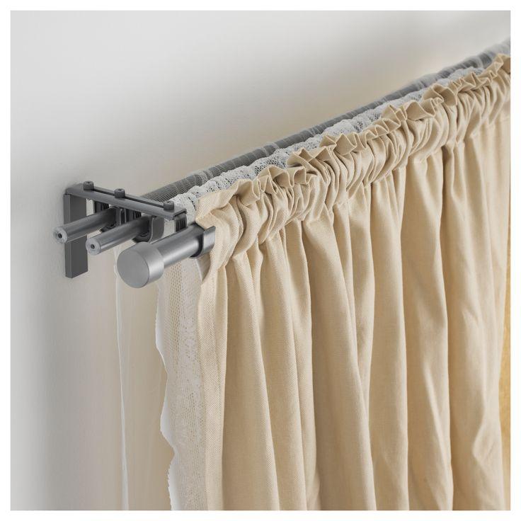best 25 ikea curtains ideas on pinterest industrial. Black Bedroom Furniture Sets. Home Design Ideas