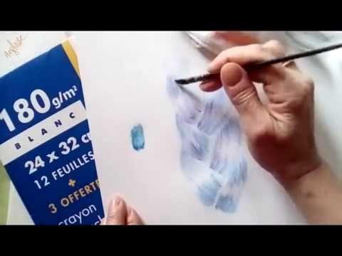 Comment Dessiner une Coiffure aux Crayons Aquarelles ? 13