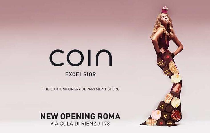 Si avvicina il momento di Coin Excelsior a Roma, - 1 giorno! #CoinExcelsior