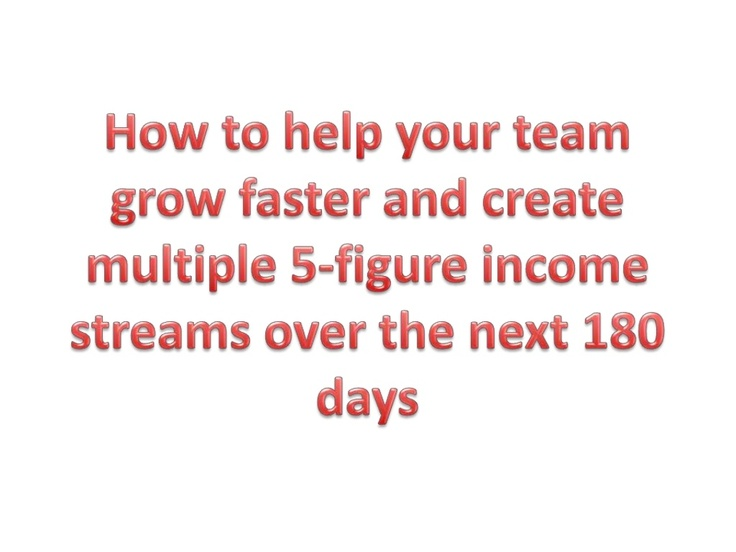how-to-help-your-team-grow-faster-and-create-multiple-5-figure-per-month-income-streams by Jordan Schultz via Slideshare