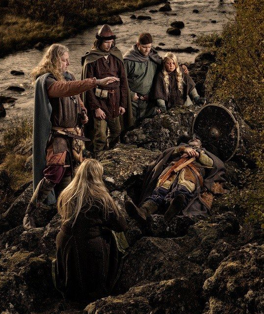 Viking death rituals