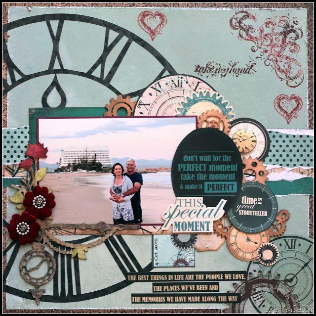 Time is a great Storyteller - CSI187 - Kaisercraft Time Machine