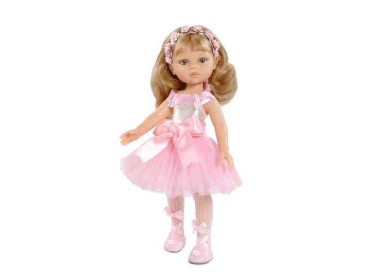 """Docka Kompis """"Ballerina"""" (blond)"""