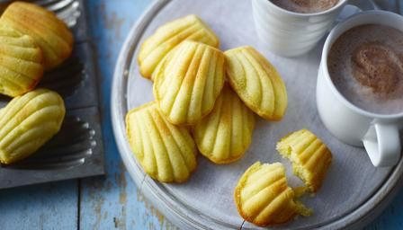 BBC - Food - Recipes : Madeleine by michel roux jr. Madelines with a touch of lemon. Yum.