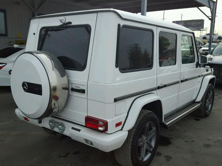 Salvage Mercedes-benz G-class Cars for Sale And Auction | WDCYC3KF4HX265238
