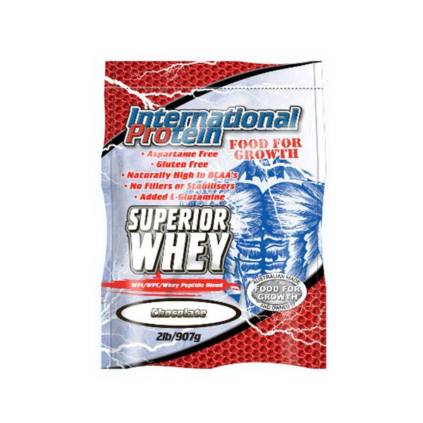International Protein Superior Whey - Second To None Nutrition