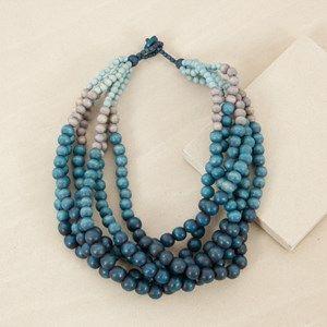 Graduated Multi Strand Short Necklace