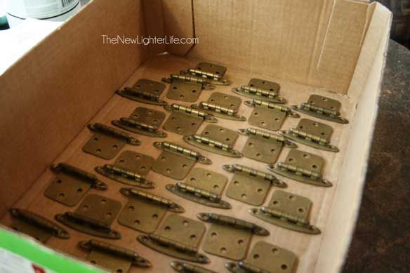 Updating RV Cabinet Hardware