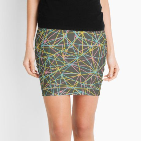 Bionic Rays Pencil Skirt  #fimbis #redbubble #lime #blue #skirt #style #styleblog #fashion #fashionblogger #fashionblog #styleblogger #pink #designer #pencilskirt #patterns #abstract #geometric #symmetry #fblogger #illustration #symmetrical