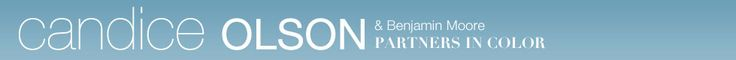 Candice Olson & Benjamin Moore - Candice Olson Paint Colors