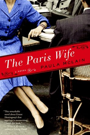 The Paris Wife is a 2012 novel by Paula McLain which became a New York Times Bestseller. The Paris wife is a fictionalized account of Ernest Hemingway's marriage to Hadley Richardson, the first of his four wives. ~Wikipedia