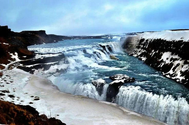 "Gulfoss ""Golden Waterfall"""