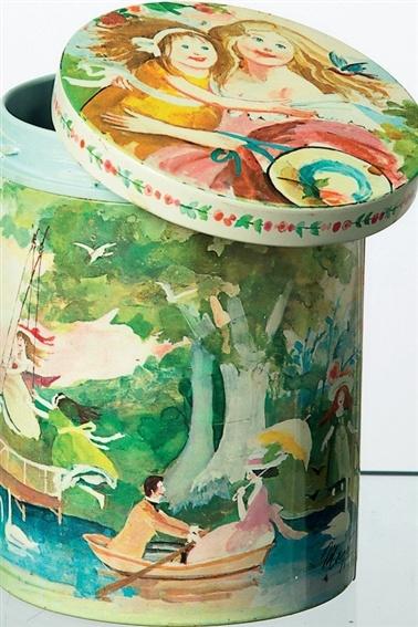 Irmas kunstdåser - De originale dåser