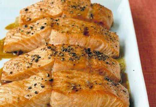 Salmón-en-salsa-de-soya