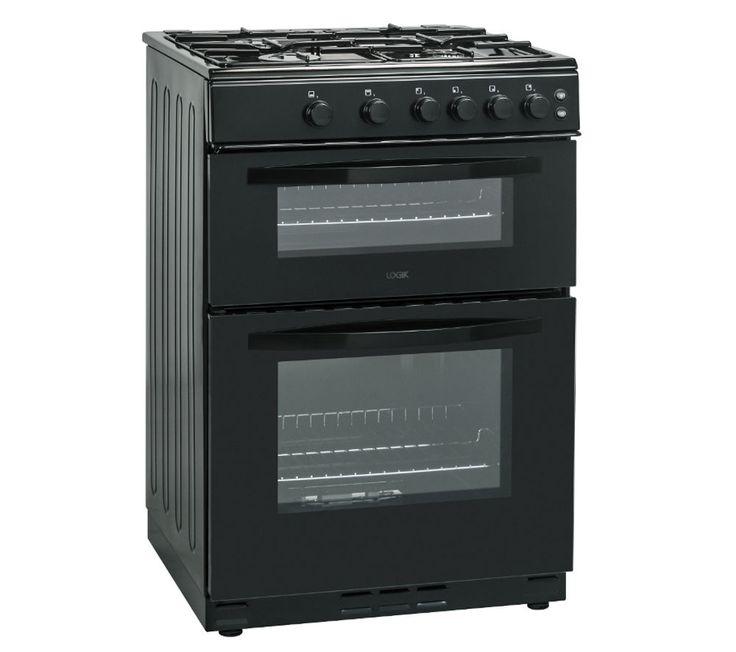 LOGIK LFTG60B16 Gas Cooker - Black
