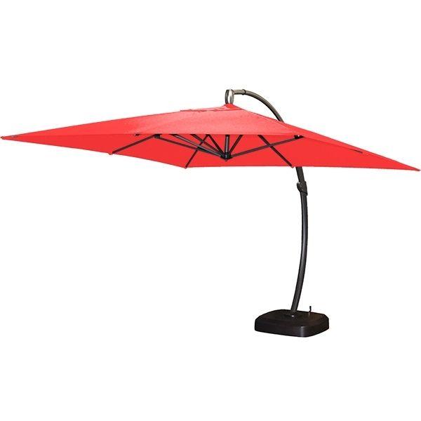 <p>Club Piscine Super Fitness vous propose un parasol suspendu de type Super Deluxe. Sa base sur roues,