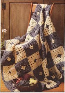 Ideia para uma colcha de crochê