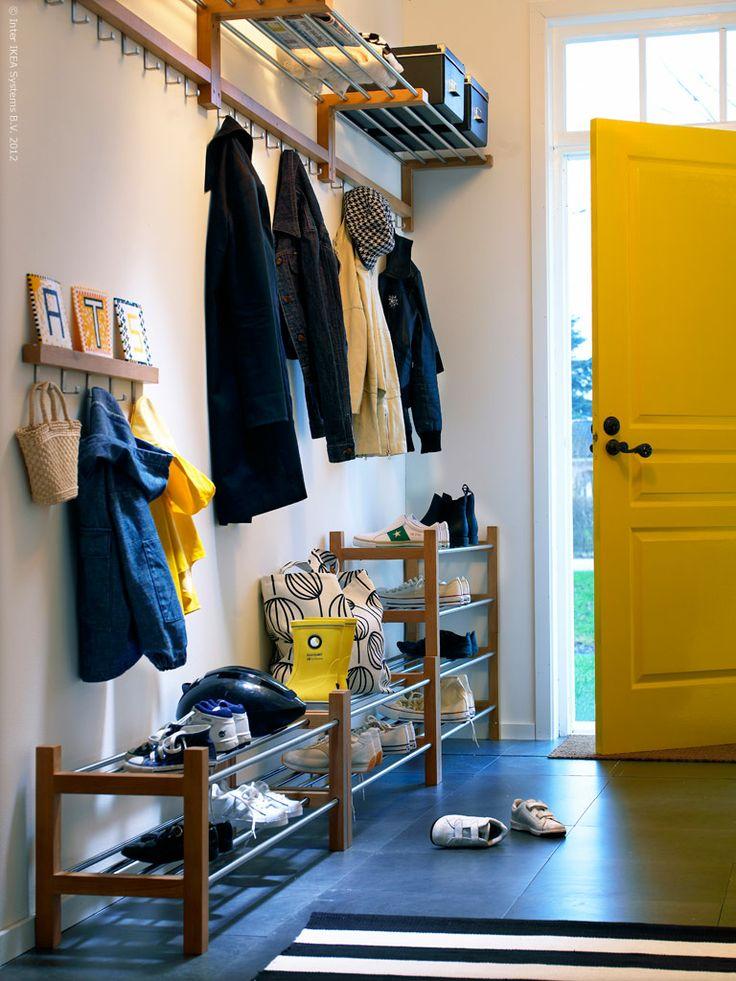 Ikea mudroom/garage space