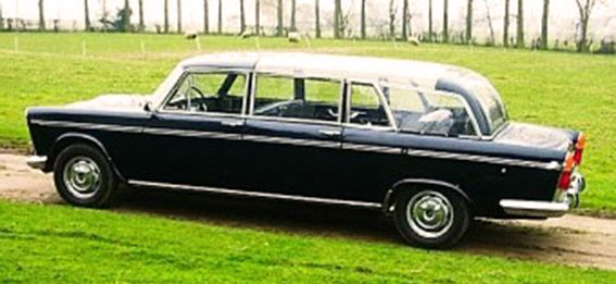 1963 FIAT 2300 - VATICAN STATE LIMOUSINE - by Francis Lombardi