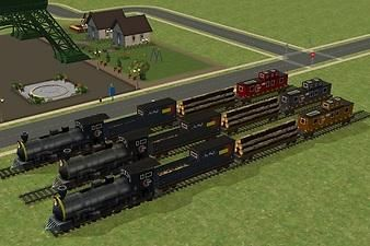 Mod The Sims - Neighborhood Train effect repacked as Game Object.