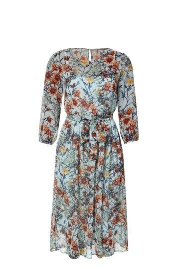 Floral Easy Waisted Dress
