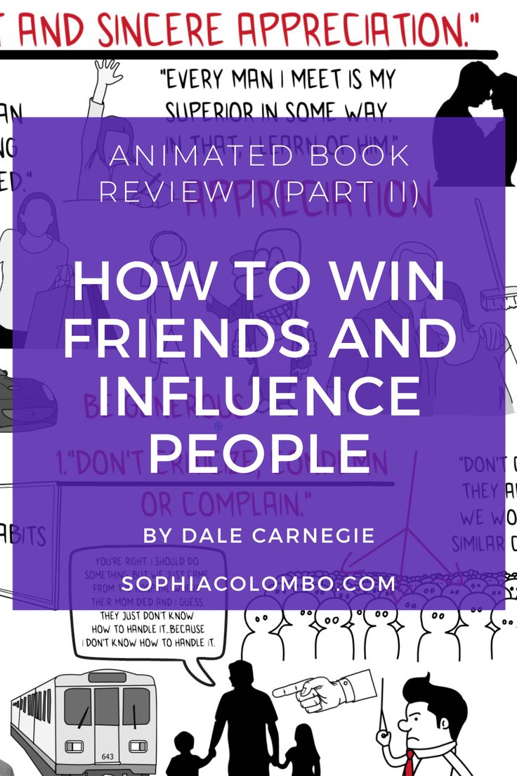 """Learn 5 big ideas from """"How To Win Friends And Influence"""