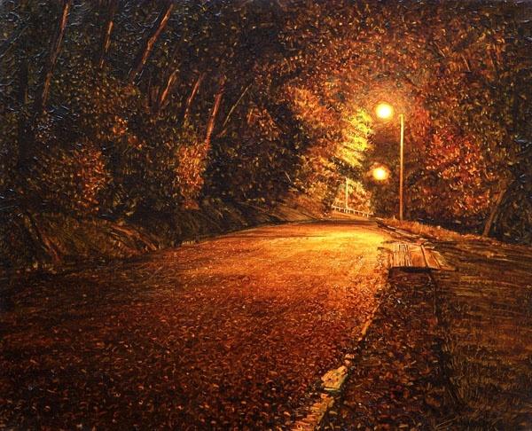 Sam Foley, 'Queens Drive Off Duncan Street'