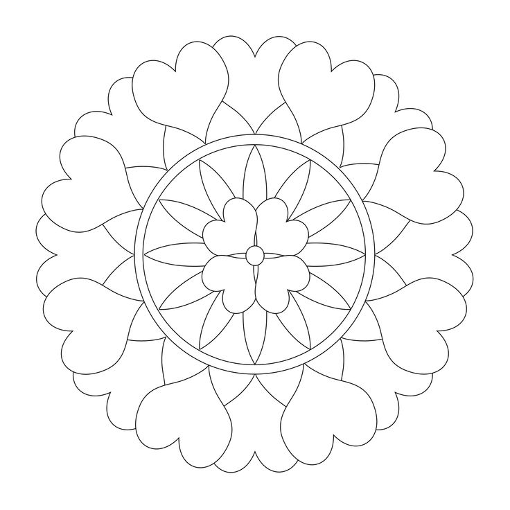23 besten Mandala Coloring Pages for Adults Bilder auf Pinterest ...