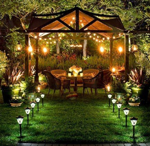 Um jardim romântico e encantador!
