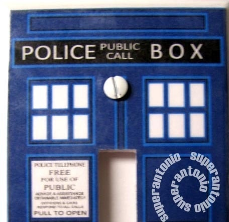 1000 images about switch plate covers on pinterest for Tardis light switch cover