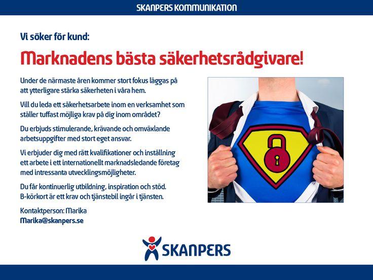 Säkerhetsrådgivare Stockholm | SkanPers