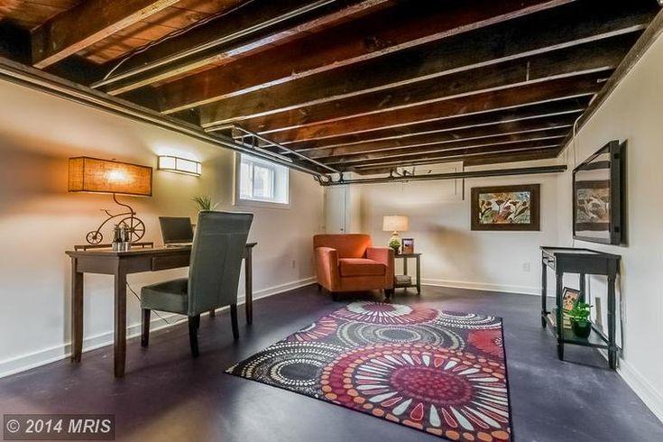 Low Ceiling Basement Renovation Ideas