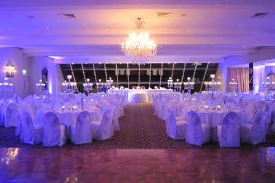 Our venue set up for a special wedding