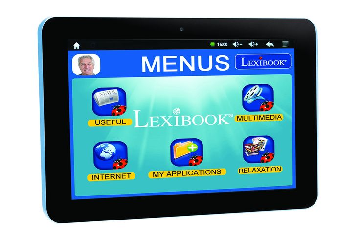 LEXIBOOK Tablet Serenity. Internet: Connect on Internet with Wi-Fi to chat in simple way. Lexibook Market Premium: With the Lexibook Market Premium and its useful interface, get access to current best games and apps including. Facebook, Instagram, Fruit Ninja, Angry Birds, Temple Run... So many applications to have fun and stay connected with family. Lexibook Market: Download more than 26, 000 applications and games!. Lexibook Cloud by HUBIC 100GB: Share easily your files with family &...