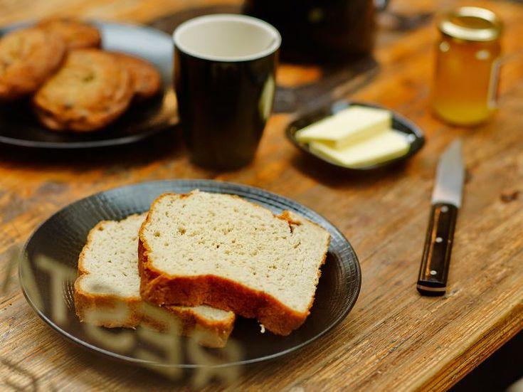 Découvrez la recette Pain de mie sans gluten sur cuisineactuelle.fr.