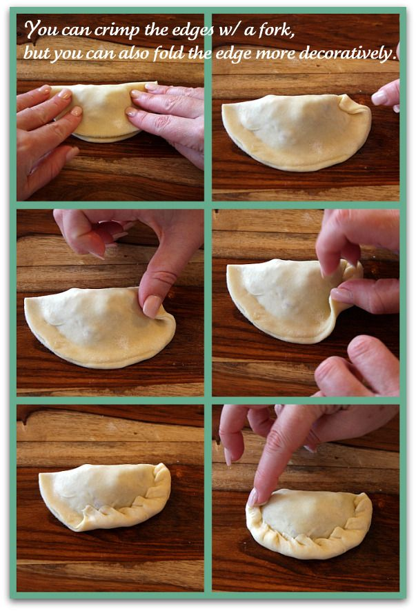 Spain/Portugal: Tapas - Beef Empanada; can also stuff with chicken, potato, pumpkin (Mexican)
