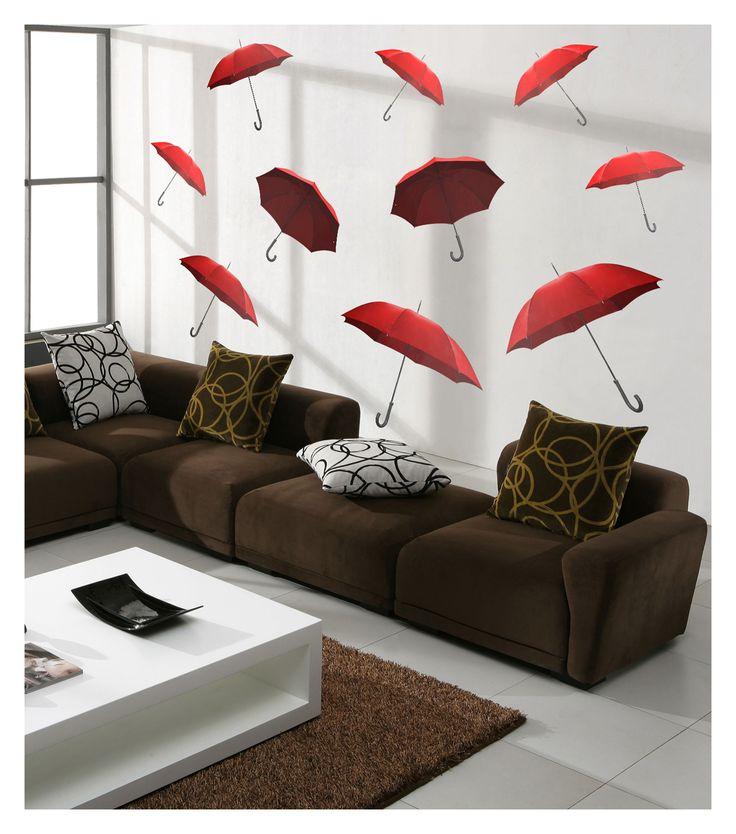 Odanızı, ofisinizi canlandıracak şemsiye stickerlar..  Ürüne ulaşabileceğiniz adres:   http://www.artikeldeko.com.tr/dp-1463-dev-duvar-sticker-22249  #dekor #dekorasyon #dekoratif #artikeldeko #evdekorasyonu #dekorasyonfikirleri #sticker #duvarsticker #şemsiye #kırmızı #red #ofis