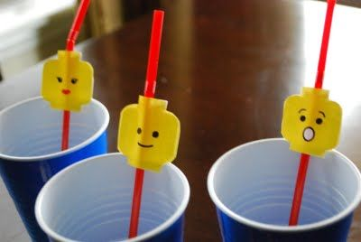 Cute idea for lego party