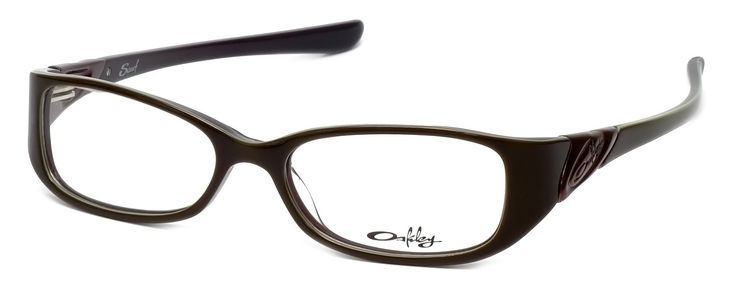 """Oakley - Oph. Scarf (49) Chestnut Frame Sunglasses. 4.6"""" Frame Width 1.1"""" Lens Height. Authentic Oakley Optical Eyewear. Comfort and performance of Three-Point Fit that holds lenses in precise optical alignment. Womens Full Frame Design. Constructed of ultralight, durable acetate."""