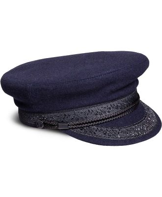 Nautical wool cloth hat.  .