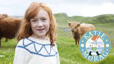 My little one's favorite show (http://bbc.co.uk/cbeebies/katie-morag) at the moment. Must explore the Katie Morag books now.
