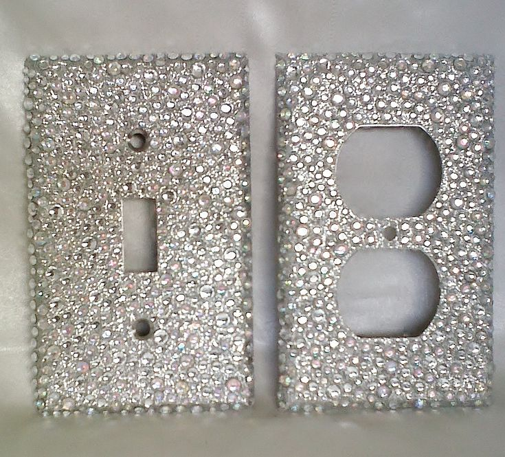 Add some bling to any room with this sassy light switch cover! It is ...