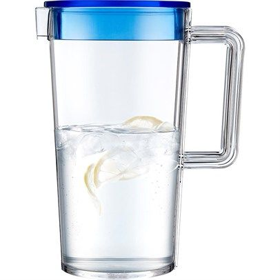 Ozsale - Unbreakable Jug & Blue Lid | 1.3L was $32.95 and is now $20.00 in our Contemporary Glassware sale.