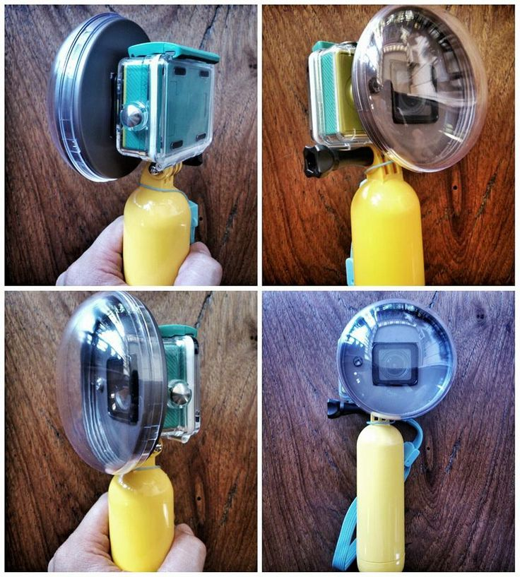 GoPro - DIY Dome XiaomiYi - DIY Dome