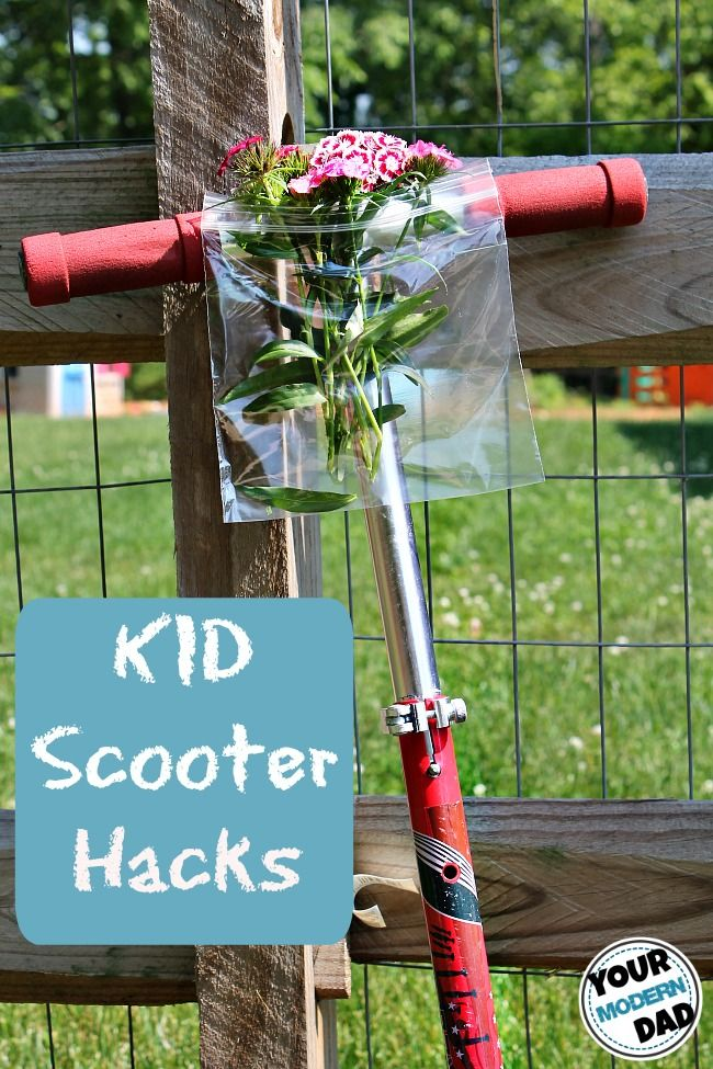 Kid Scooter Hacks from Your Modern Dad