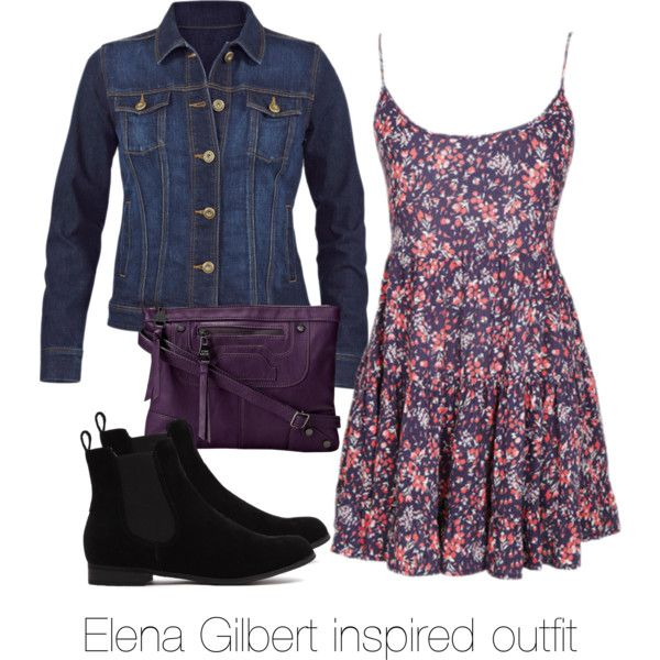 Elena Gilbert inspired outfit/ The Vampire Diaries by tvdsarahmichele on Polyvore featuring Steve Madden and CAbi
