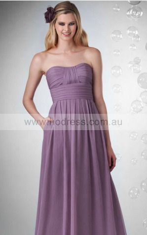Chiffon Sweetheart Empire A-line Floor-length Bridesmaid Dresses 0740156--Hodress