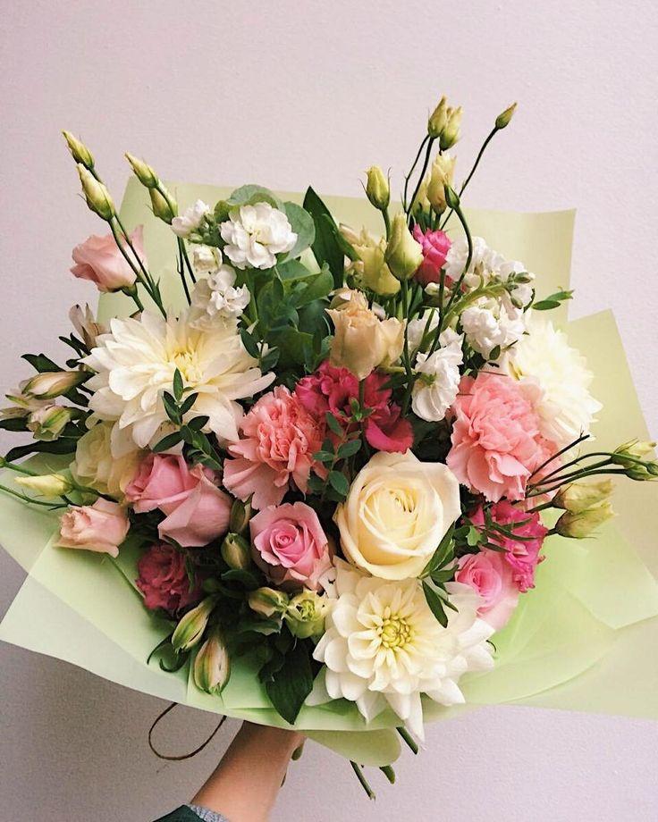 Цветы которыми украшают букеты, цветов